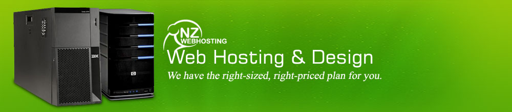 Web Hosting and Design - We have the right-sized, right-priced plan for you.